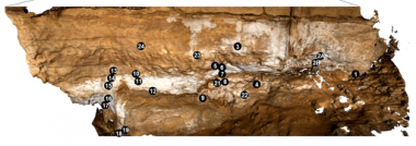 Variability and sampling strategy of cave wall concretion: Case study of the moonmilk found in Leye Cave (Dordogne)