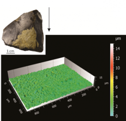 Quantifying lithic surface alterations using confocal microscopy and its relevance for exploring the Châtelperronian at La Roche-à-Pierrot (Saint-Césaire, France), février 2019