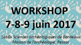 Inscription au workshop du LaScArBx 7-9 juin 2017